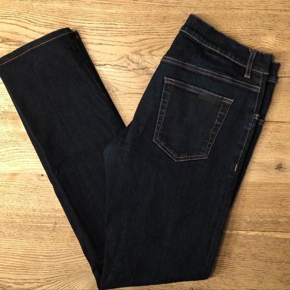 uk availability 965ae 7cdef Prada Men's Dark Wash Tight Fit Jeans